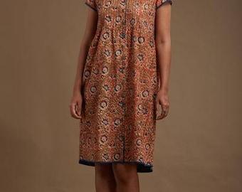 Nargis Pintucked Dress