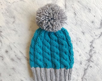 Newborn Chunky Knit Winter Beanie