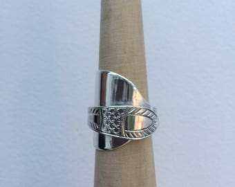 Sterling Silver Antique Spoon Ring