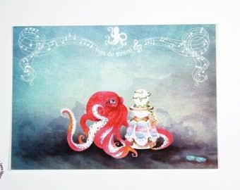 Postcard - Mermaid voices