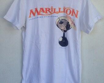 Rare Vintage Marillion British rock band 1987 tshirt M