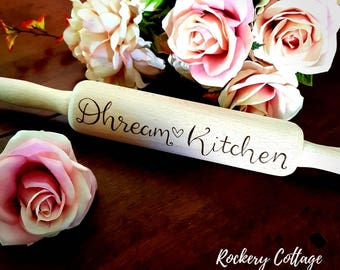 Personalised rolling pin, custom rolling pin, baking set, personalised kitchen gift, custom kitchen utensil, gift idea, baking gift, home