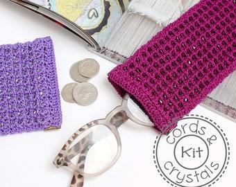 Crochet Spectacle Case Kit