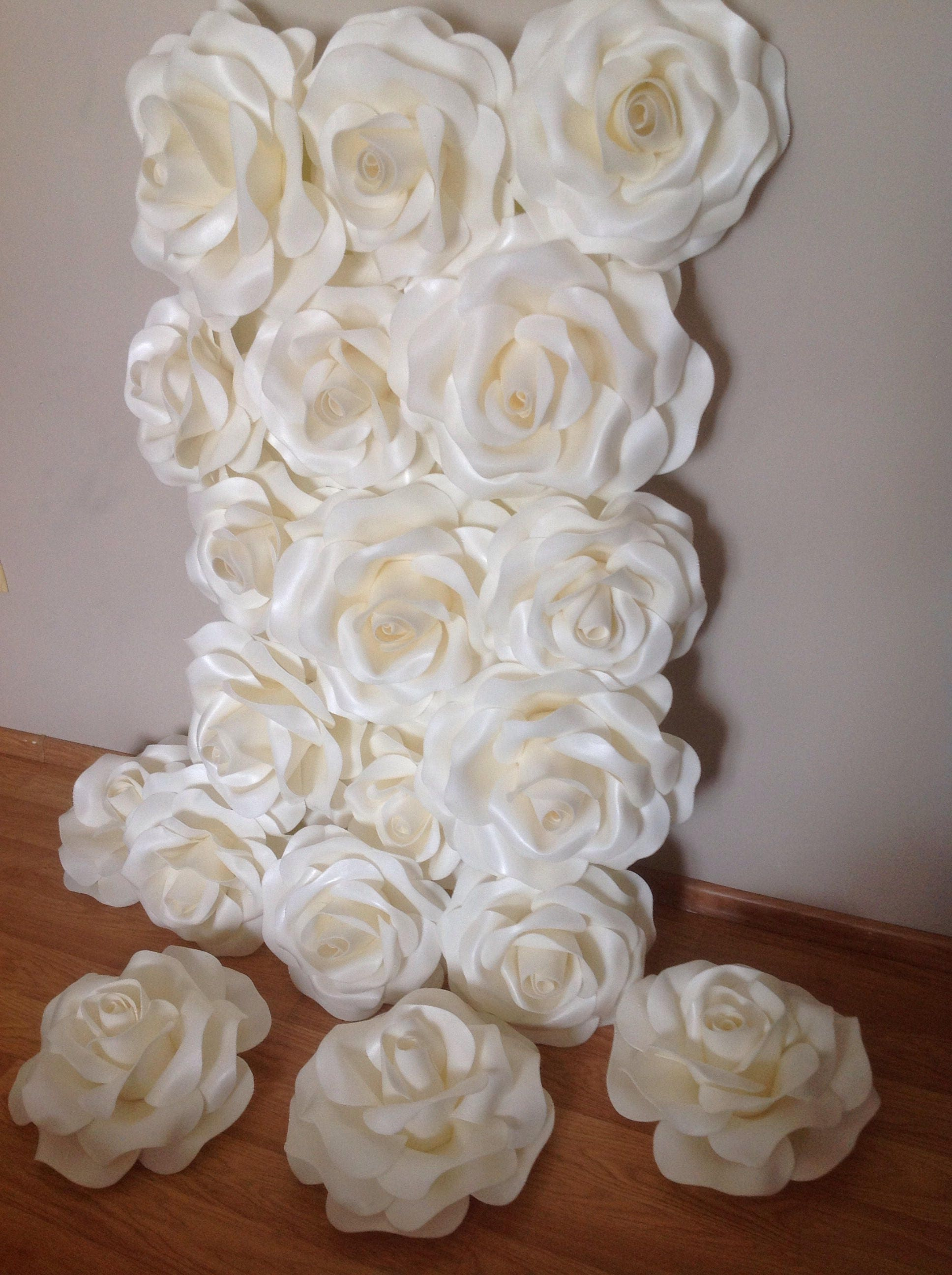 Large Paper Flowers-Paper Flowers Decor-Wedding decorations-Large ...