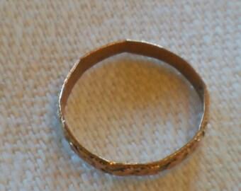 Baby Eternity Ring - Teensy Tiny - Solid 10k Gold