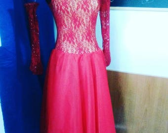 Dance Red long dress