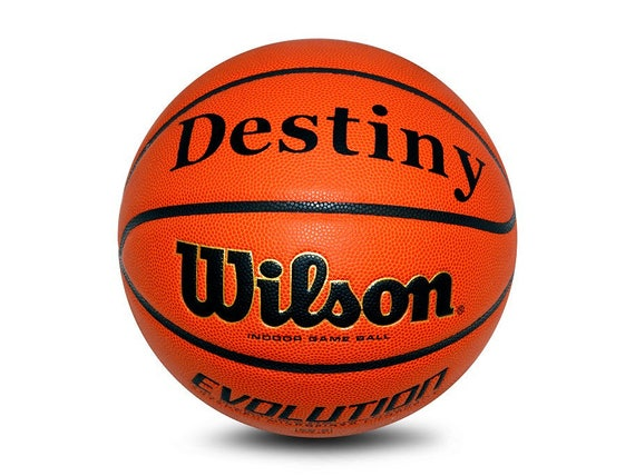 Custom Order for 2 Wilson Evolution Indoor Size 6 & 7 Basketball with custom logo