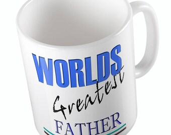 WORLDS GREATEST FATHER mug