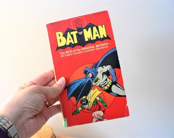 Vintage Batman Graphic Novel Batman Comic Book