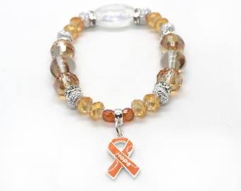 Leukemia Awareness - Leukemia Survivor - Leukemia Bracelet - Leukemia Awarenss Month - Leukemia Gift - Leukemia Jewelry - Leukemia