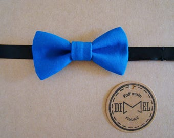 Bow tie child boy girl baby blue adjustable to order