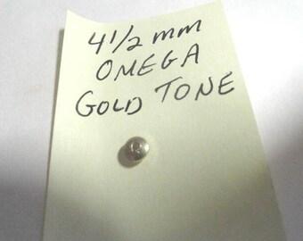 Vintage Omega Gold Clad Winding Crown 4 1/2 mm