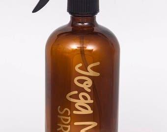 Yoga Mat Spray Label