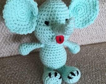 Crocheted Elephant toy