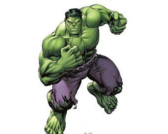 The hulk stand up cardboard cutout