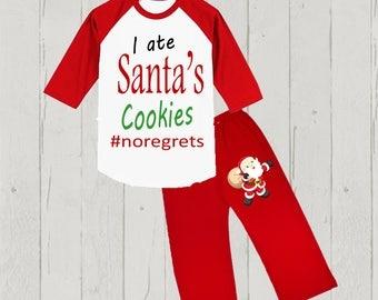 Boy's Christmas Outfit - Shirt and Pants