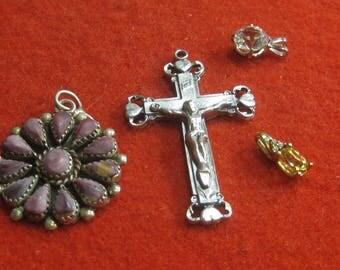 R- 35   Vintage pendants 4 items 2 are 925