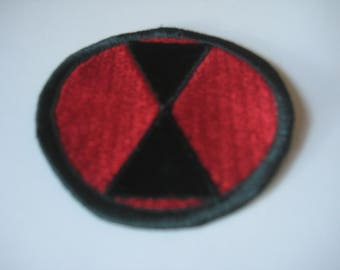 7th Infantry Division Patch.