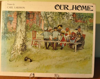 Our Home by Carl Larsson Methuen 1976
