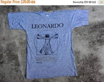 OFF 15% Rare!!! Leonardo Da Vinci Tee Shirt