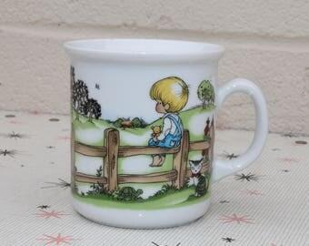 Vintage Joan Walsh Anglund Cup Mug Made in W. Germany Kronester Bavaria