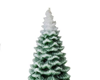 Christmas Tree Unscented Candle