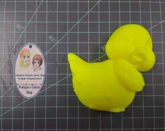 Chick Plastic Mold or Silicone mold, bath bomb mold, soap mold, chicken mold, resin mold, bird mold, 3d mold, baby chick mold, chocolate