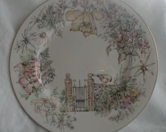 Royal Worcester Secret Garden Dinner Plate