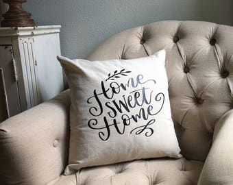 Pillow Cover- Home Sweet Home