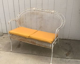 vintage metal chair