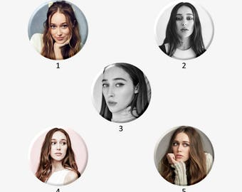 ALYCIA DEBNAM-CAREY Buttons (Select Choice)