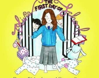 Olivia and the First Day of School - Children's Book, Back to School, Story, Illustration