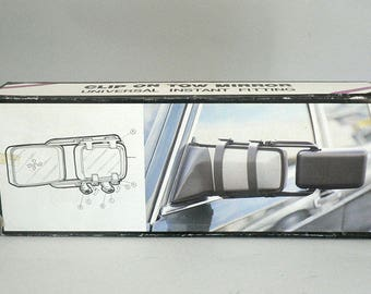 Automobile Towing Mirrors Extending Clip On Existing Mirrors