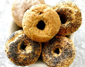Organic Bagels Baked Gluten Free Paleo