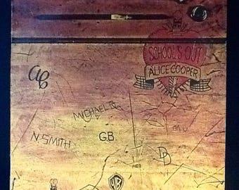 Alice Cooper - 'School's Out' Vinyl Record L.P (1972)