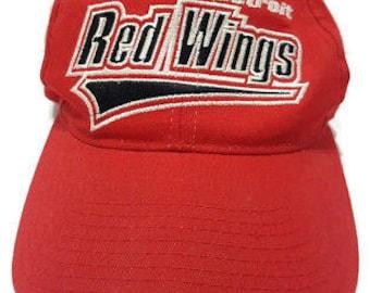 Vintage Starter NHL Detroit Red Wings Adjustable Snapback Hat