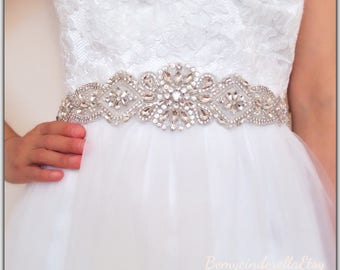 Gold Bridal Sash