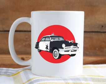 Police Car Mug - Cop Car Mug - Car 54 Mug - Police Cruiser Mug - Police Car Mug - Car 54 Where Are You? - Coffee Cup - ERIEsistible Souvenir