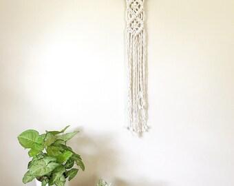 Macrame Wall Art, Bridesmaid Gift, Modern Decor, Gallery Wall, Woven Wall Hanging, Macrame Wall Hanging, 70s Decor, Small Wall Hanging