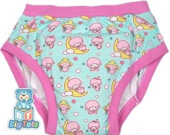 Adult Baby PINK SHEEP training pants ABDL