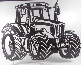 decorative plate MASSEYFERGUSSON farm tractor metal sign