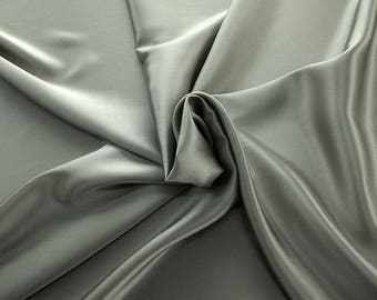 1712-015 - Crepe Satin silk 100%, width 135/140 cm, made in Italy, dry cleaning, weight 100 gr