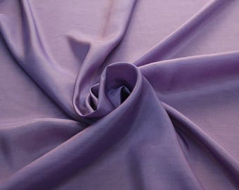 402206-taffeta natural silk 100%, width 110 cm, made in India, can be used liner, dry wash, weight 58 gr