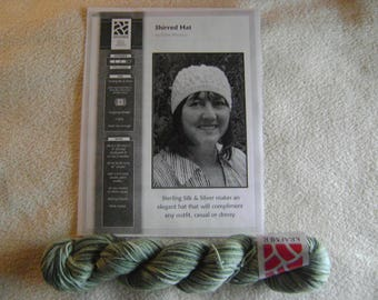 Sterling Silk and Silver Shirred Hat Kit