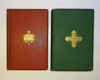 1870's HENRY WADSWORTH LONGFELLOW - The Divine Tragedy & The Masque of Pandora, 1st Editions