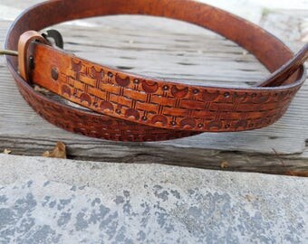 Handmade 1.25 in. Belt 100% USA Made
