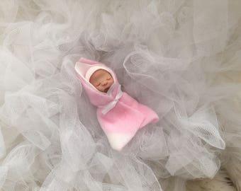 Cute Dollhouse Bundle Baby,ooak,polymer clay,artist doll