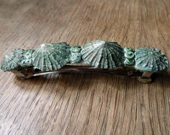 Mermaid Hair clip Barrette with Seashells