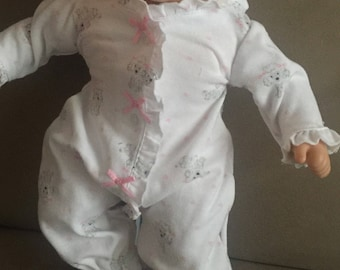 Puppies On Sleep Play Outfit For Bitty Baby With American Girl