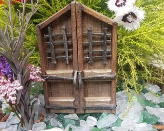 The gates of Noldor fairy door